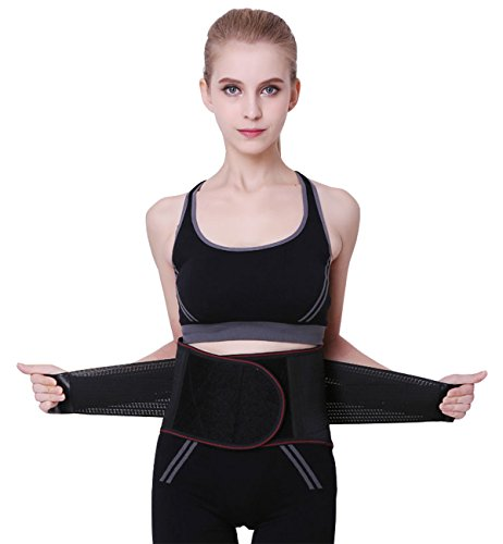 Lecoon シェイプアップベルト 腰サポーター 発汗ダイエットベルト コルセット 姿勢矯正 男女兼用 XL