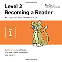 """Reading with Miss Amanda Level 2: Becoming a Reader: Focusing on learning three-letter """"a"""" words"""