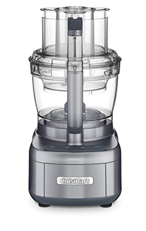 音節拒絶するエンジン[(Cuisinart) Cuisinart ] [FP-13DGM Elemental 13 Cup Food Processor and Dicing Kit, Gunmetal] (並行輸入品) [並行輸入品]