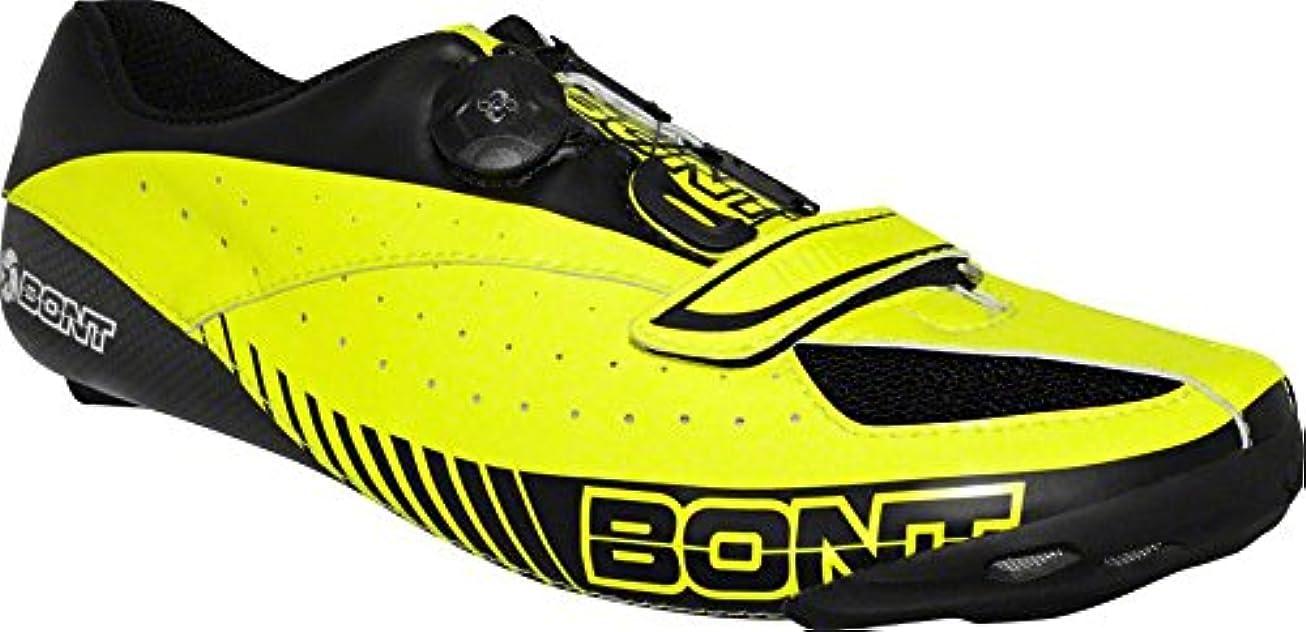 スプレー変色するながらBont Blitz サイクリングロードシューズ Euro 40.5 ネオンイエロー/ブラック