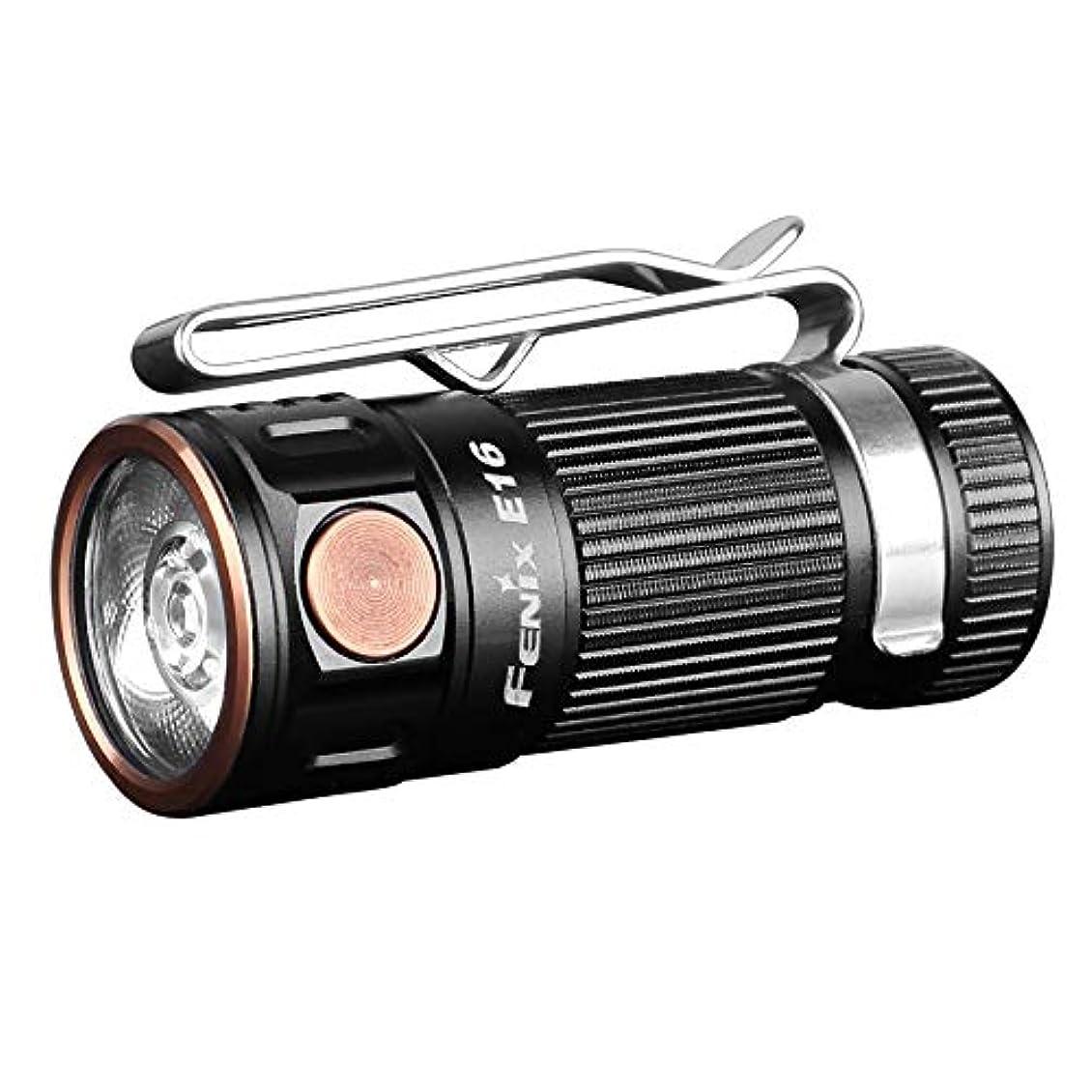塩階層弾力性のあるFENIX(フェニックス) E16 XP-L HI EDCフラッシュライト 明るさ最高700ルーメン E16