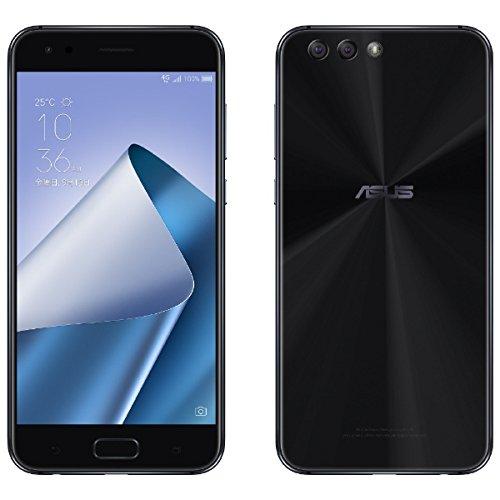 ASUS ZenFone 4 カスタマイズモデル ブラック「ZE554KLBK64S4I」 Android 7.1.1・5.5型・メモリ/ストレージ...