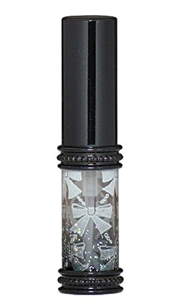ディスク熱心一致するヒロセアトマイザー メタルリボン 16209 BK (メタルラメリボン ブラック)