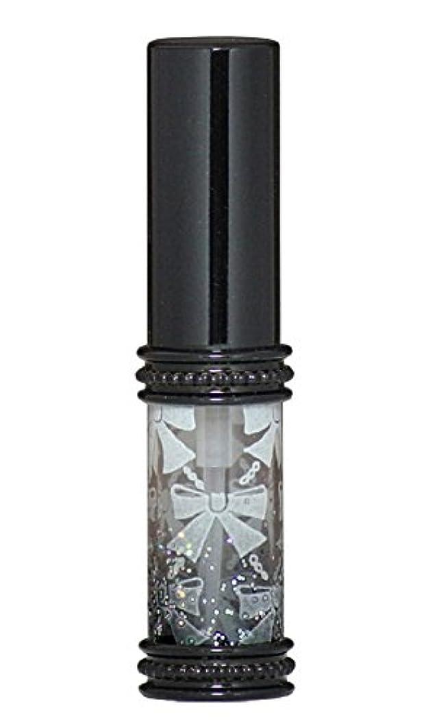 イーウェル精算私達ヒロセアトマイザー メタルリボン 16209 BK (メタルラメリボン ブラック)