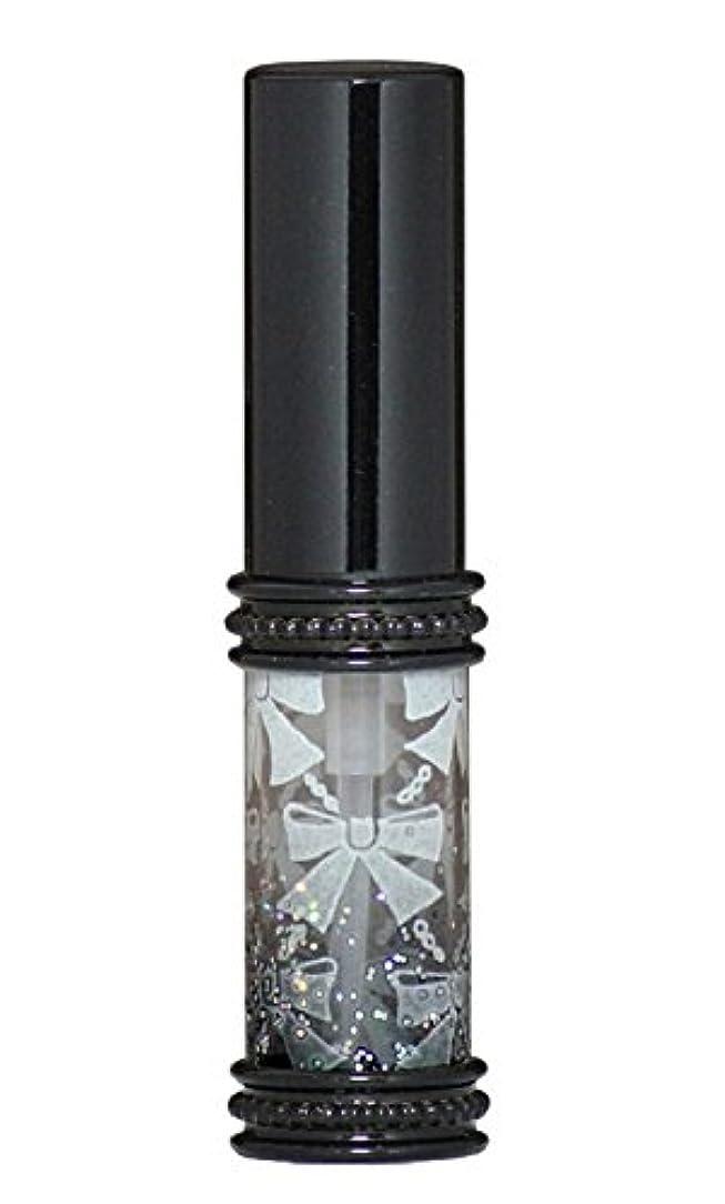 示すいらいらさせるズームインするヒロセアトマイザー メタルリボン 16209 BK (メタルラメリボン ブラック)