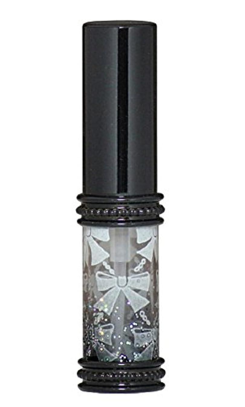 微妙クルーズヒップヒロセアトマイザー メタルリボン 16209 BK (メタルラメリボン ブラック)