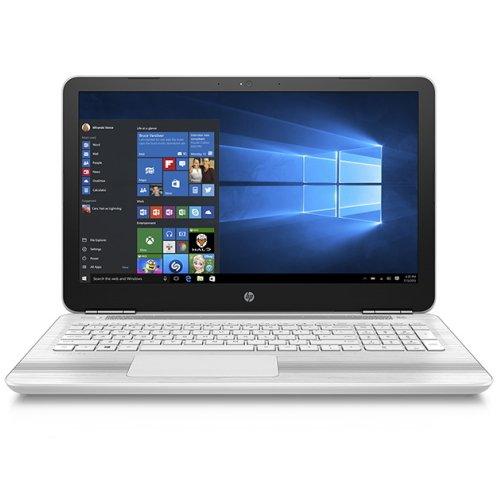 HP Pavilion 15-au105TU Windows10 Corei5-7200U 4GB 大容量1TB DVDスーパーマルチ 高速無線LAN IEEE802.11ac/a/b/g/n Bluetooth 92万画素webカメラ 10キー付バックライトキーボード B&O Playデュアルスピーカー 15.6型フルHD液晶ノートパソコン ブリザードホワイト