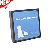 SEALEN Pet Hair Cleaner,Reusable Hair and Fur Remover for Pet Dogs Cats,Magic Pet Foam Pet Brush Hair Erasing for Bedding Carpets Car Seats Clothing [並行輸入品]