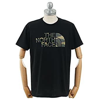 (ザ ノースフェイス) THE NORTH FACE フェイドカモフラージュロゴティー NT31897 04.ブラック XL(2L)