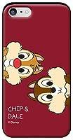 4種類のオシャレ愛らしくかわいいパステルカラーのヴィンテージでユニークな魅力的なDISNEYディズニーアニメ童話の中にチップとデールのキャラクターレタリングラブリーアートデザインパターンiPhoneケース&Galaxyケースシリコンとポリカーボネートの二重構造のスライドカード収納バンパースマホケース.MK-8 05 (iPhone 6 / S6, 3.CHIP&DALE-1) [並行輸入品]