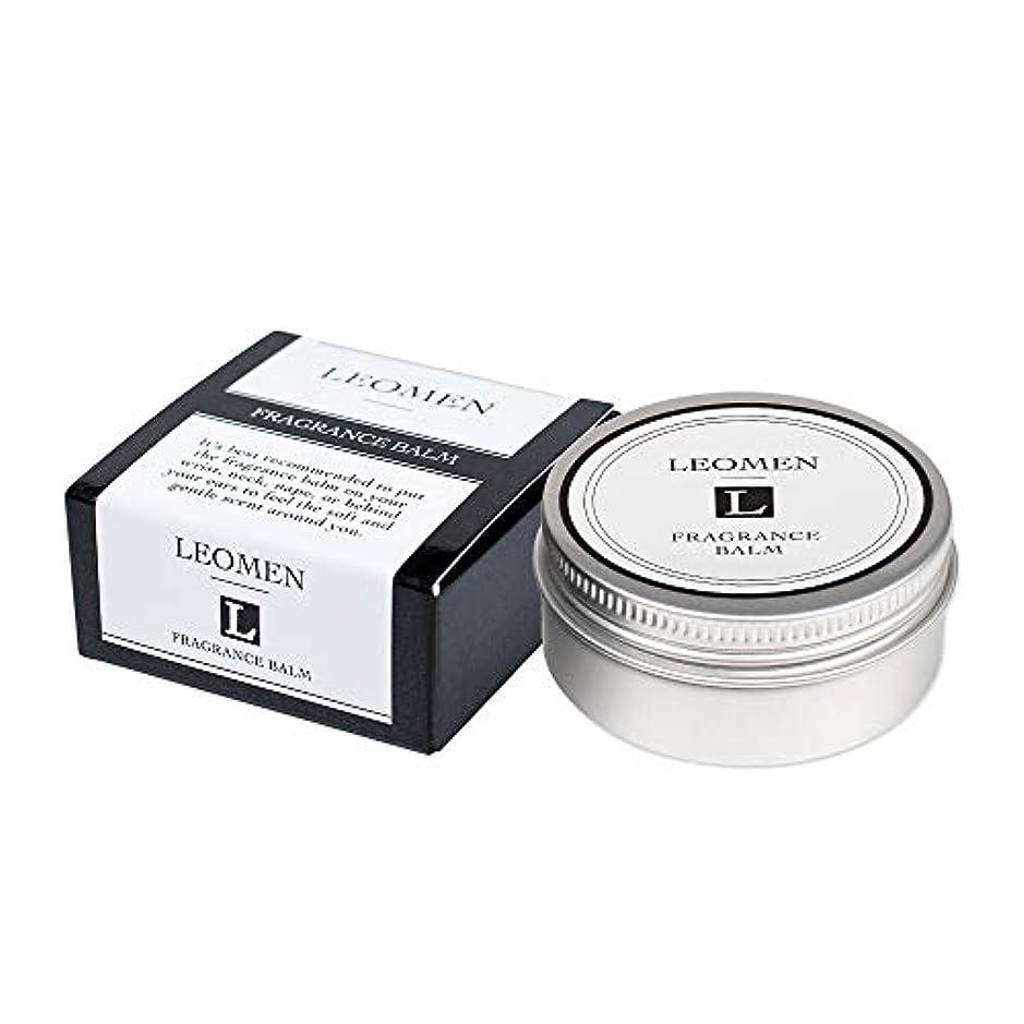のしなやか倒錯LEOMEN メンズ 練り香水 フレグランスバーム 40g (シトラスグルーミング の香り) 【 さりげない 爽やかな香り 】 レオメン