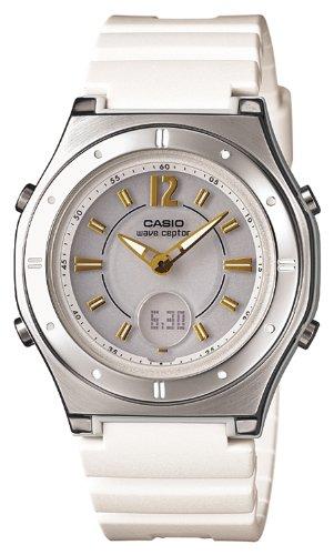 [カシオ]CASIO 腕時計 ウェーブセプター 電波ソーラー LWA-M142-7AJF レディース