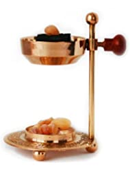 Handmade Adjustable Brass/Gold Incense and Frankincense Resin Burner/Censer holder for Charcoal and Candles. Ideal...