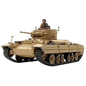 タミヤ 1/35 ミリタリーミニチュアシリーズ No.352 イギリス軍 歩兵戦車 バレンタイン Mk.2/Mk.4 プラモデル 35352