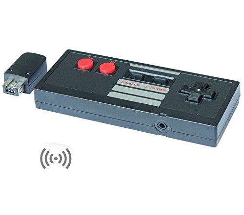 【2.4GHz ワイヤレス】海外版 NES クラシックミニ 専用ワイヤレスコントローラー ブラック[cxd1701] [並行輸入品]