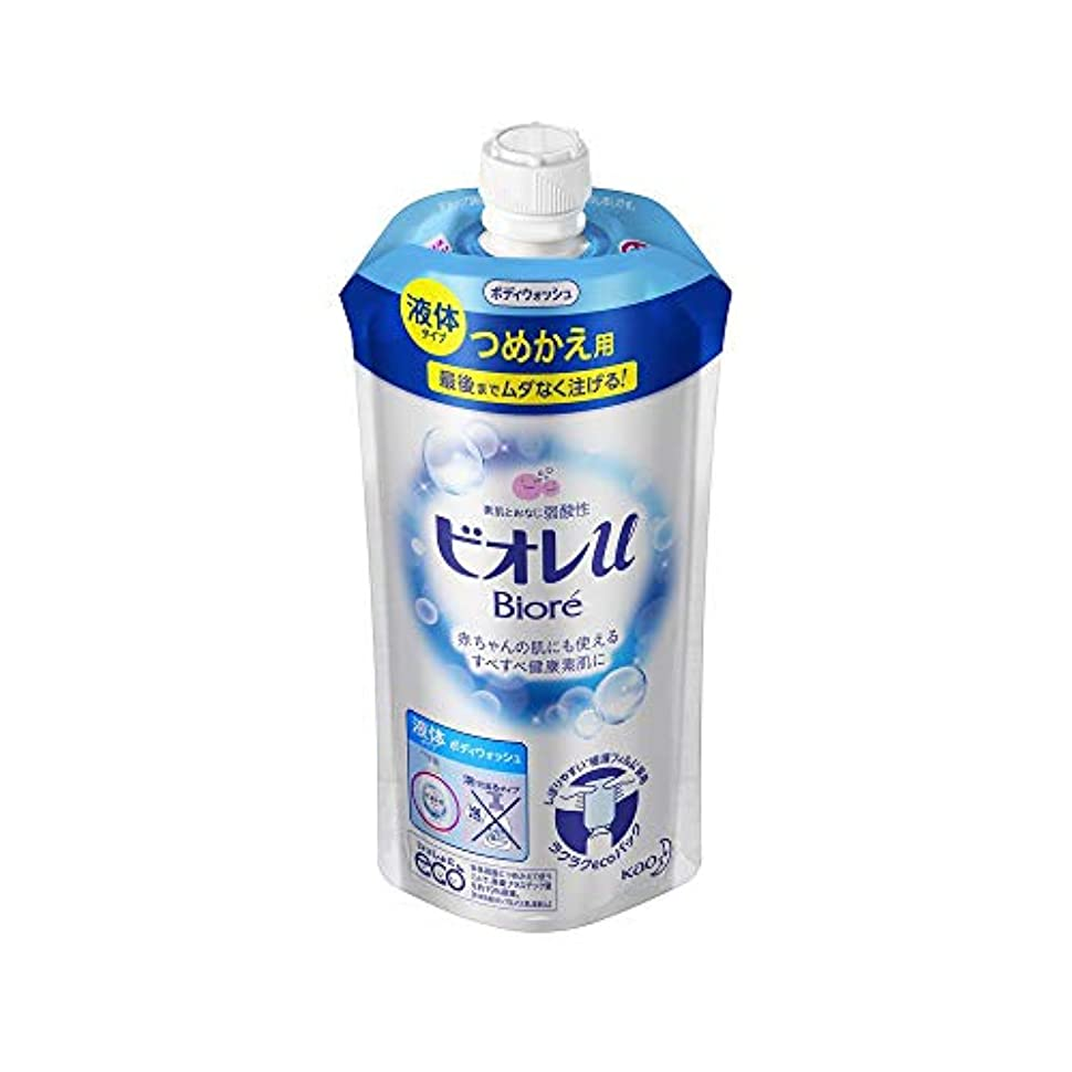 エロチック消毒剤大工花王 ビオレu つめかえ用 340ML