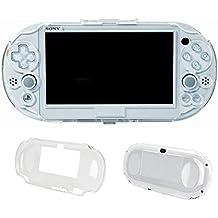 新品 SNNC-JP Play Station Vita PCH-2000用 プロテクト ケース 保護 カバー クリア プロテクトフレーム for PSV2000