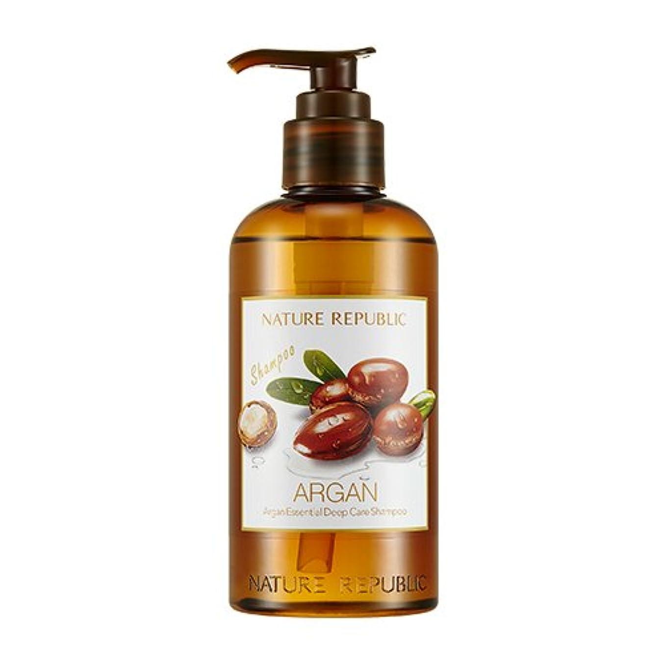 基礎小人隣接する[ Renewal ]ネイチャーリパブリック NATURE REPUBLIC アルガン エッセンシャル ディープ ケア シャンプー Argan Essential Deep Care Shampoo 300ml [並行輸入品]