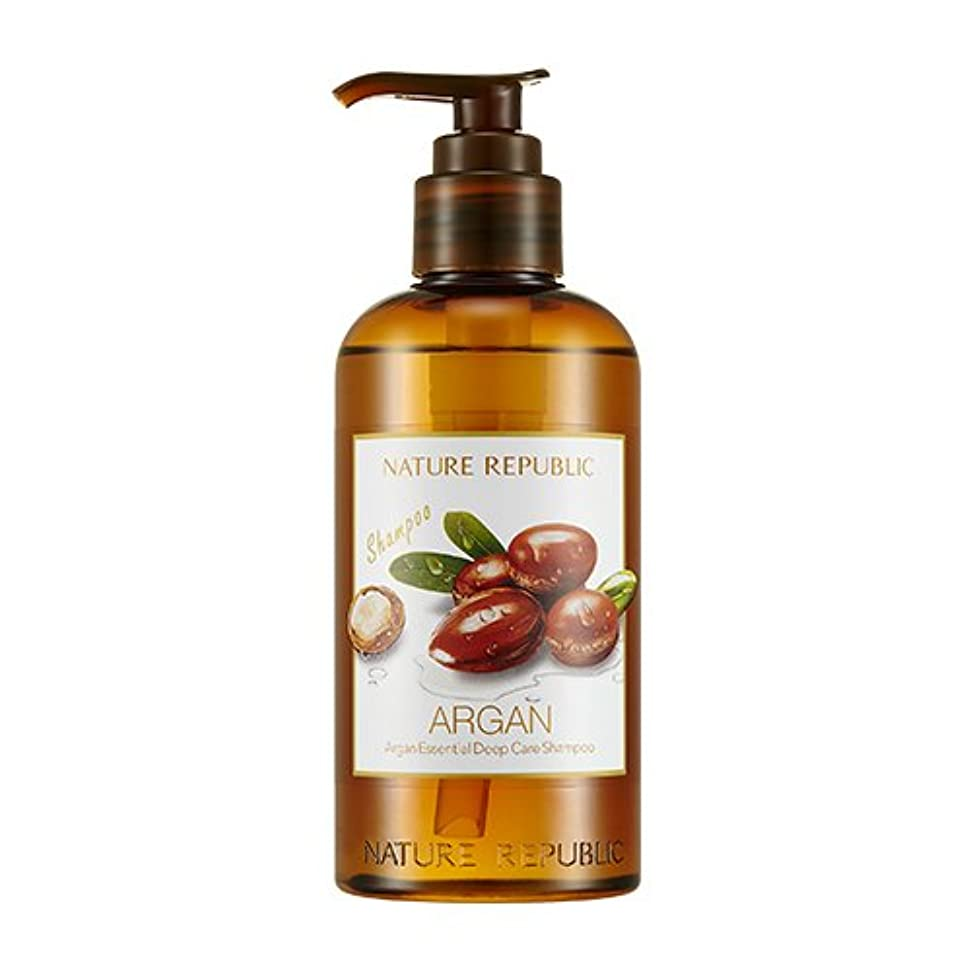 逃げる最初は宗教的な[ Renewal ]ネイチャーリパブリック NATURE REPUBLIC アルガン エッセンシャル ディープ ケア シャンプー Argan Essential Deep Care Shampoo 300ml [並行輸入品]