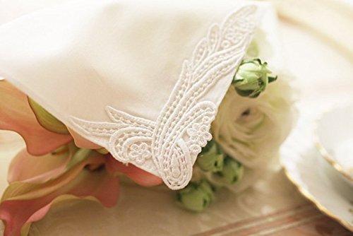 (ハグ ハンカチーフ)hugge handkerchief ハンカチ 白 レディース ( ノーブル) メンズ ギフト ブライダル 結婚式 ウェディング