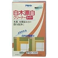 (まとめ買い) アサヒペン 白木漂白クリーナースーパー 500ML 【×3】