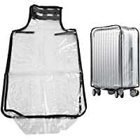 22in / 26in / 28in / 30in PVC Transparent Dust-Proof Luggage Suitcase Cover Waterproof Trolley Case Protector(30in)