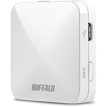 BUFFALO 11ac/n/a/g/b 無線LAN親機(Wi-Fiルーター) ホテル用 433/150Mbps ホワイト【Nintendo Switch 動作確認済】 WMR-433W-WH