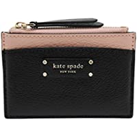 Kate Spade New York Jeanne Small Zip Card Holder Warm Vellum/Black