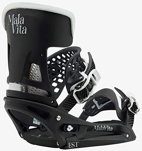 Burton Malavita Est Snowboard Binding – Men 's S ブラック