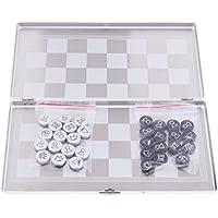 Perfeclan アルミニウム合金 磁気 国際チェスセット ボードゲーム