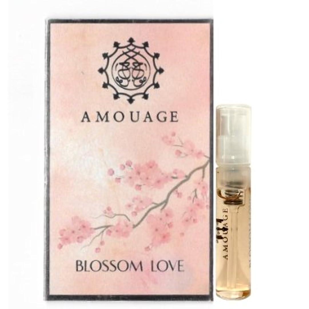 震えハプニング不愉快にAmouage Blossom Love EDP Woman Vial Sample 2ml(アムアージュ ブロッサム ラブ ウーマン オードパルファン 2ml)[海外直送品] [並行輸入品]
