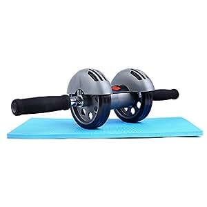 Sportneer 腹筋ローラー アブホイール 自宅 トレーニング 筋トレ 筋肉 腹筋 エクササイズ 耐荷重 100kg アシスト機能付き