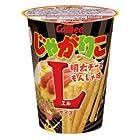 カルビー じゃがりこ 明太チーズもんじゃ味 Lサイズ 1箱(12個)