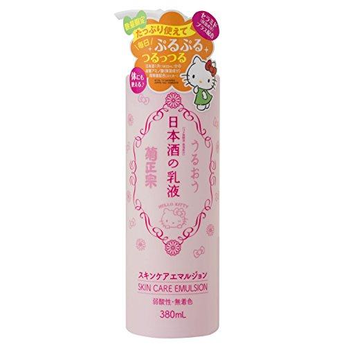 菊正宗 日本酒の乳液 キティボトル 380ml