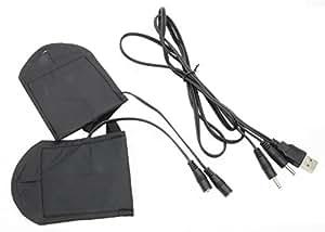 USB ヒーター手袋 USBウォーマー ヒーター内蔵 ハンドウォーマー ※インナーのみ