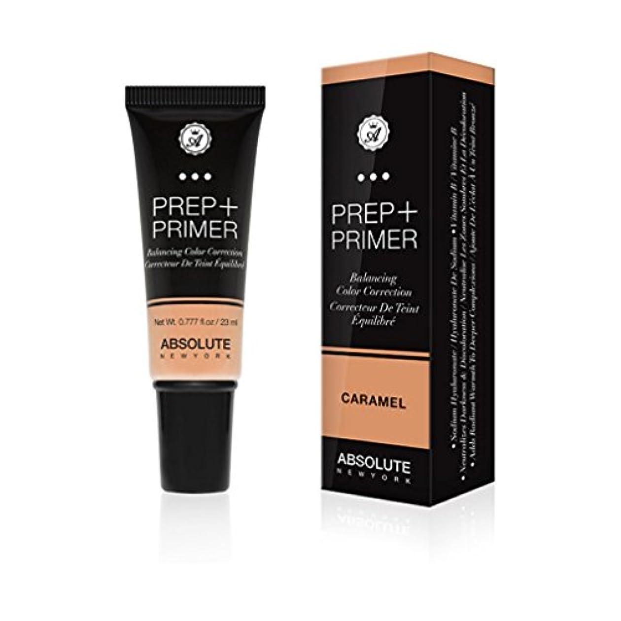 マッシュ脇にこっそりABSOLUTE Prep + Primer - Caramel (並行輸入品)