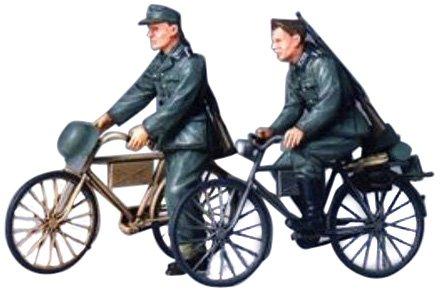 タミヤ 1/35 ミリタリーミニチュアシリーズ No.240 ドイツ陸軍 歩兵 自転車行軍セット プラモデル 35240