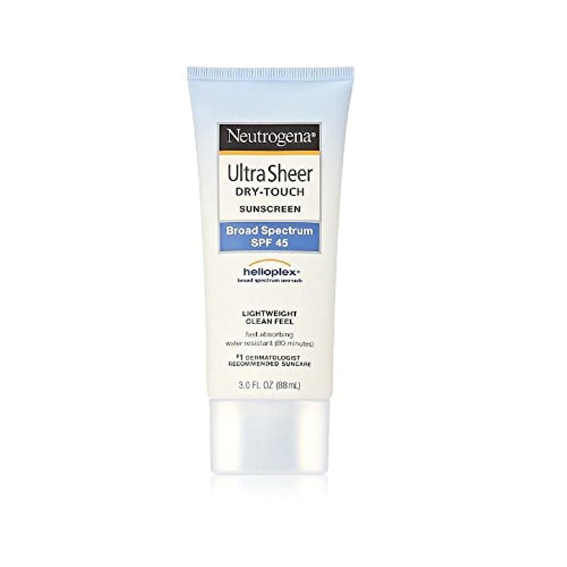 反発レインコート申請者Ultra Sheer Dry Touch Sunblock SPF 45