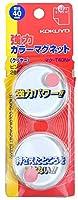 (まとめ買い)コクヨ 強力カラーマグネット クリヤー 直径40mm 2個入 ピンク マク-T40NP 【×3】
