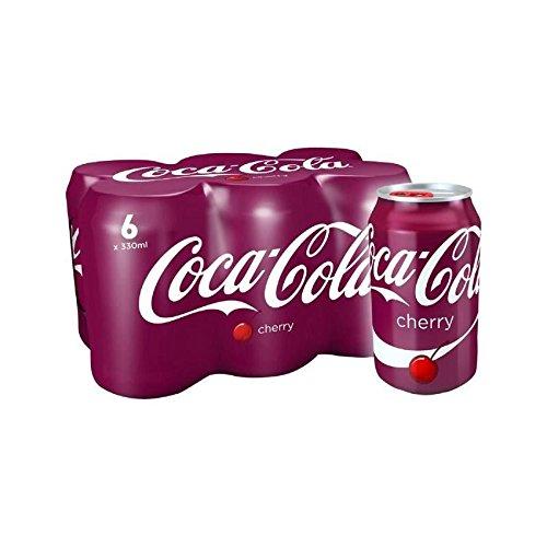 桜6×330ミリリットル (Coca-Cola) - Coca-Cola Cherry 6 x 330ml