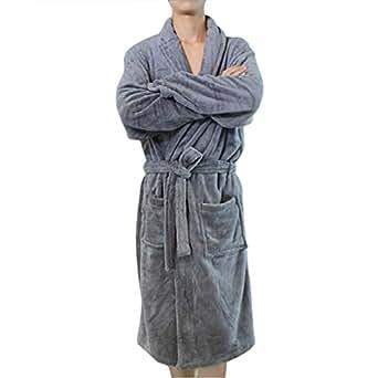 (シーズフビューティー)seasofbeautyカップル スタイル バスローブ ローブ ワンピース パジャマ 男女兼用
