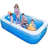 インフレータブルプール、特大家族用プール、5サイズ - 150センチメートル、180センチメートル、210センチメートル、260センチメートル、318センチメートル (Size : 180cm)