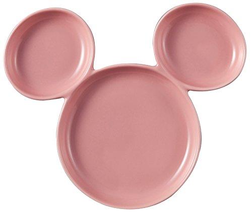 RoomClip商品情報 - ディズニー ミッキーマウス(ミツマルアイコン型) プレート 19.5cm ピンク SAN2636-2