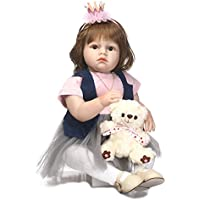 24インチ60 cm磁気Lovely SanyDoll Rebornベビー人形ソフトSilicone Lifelike Cute Lovely Baby b0763kyvs4