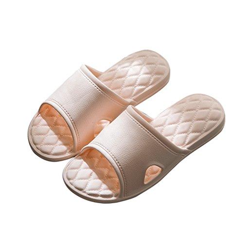 Vinvo スリッパ サンダル 超軽量 滑り止め 抗菌防臭 メンズ レディース (23~24 cm, サーモンピンク)