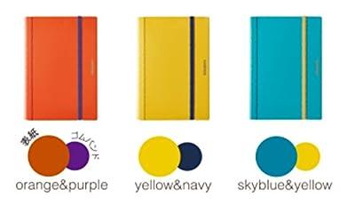 キングジム A4二つ折りクリアーファイル コンパック 10ポケット 黄色 水色 橙 5894H-Y/MI/O 3冊組み