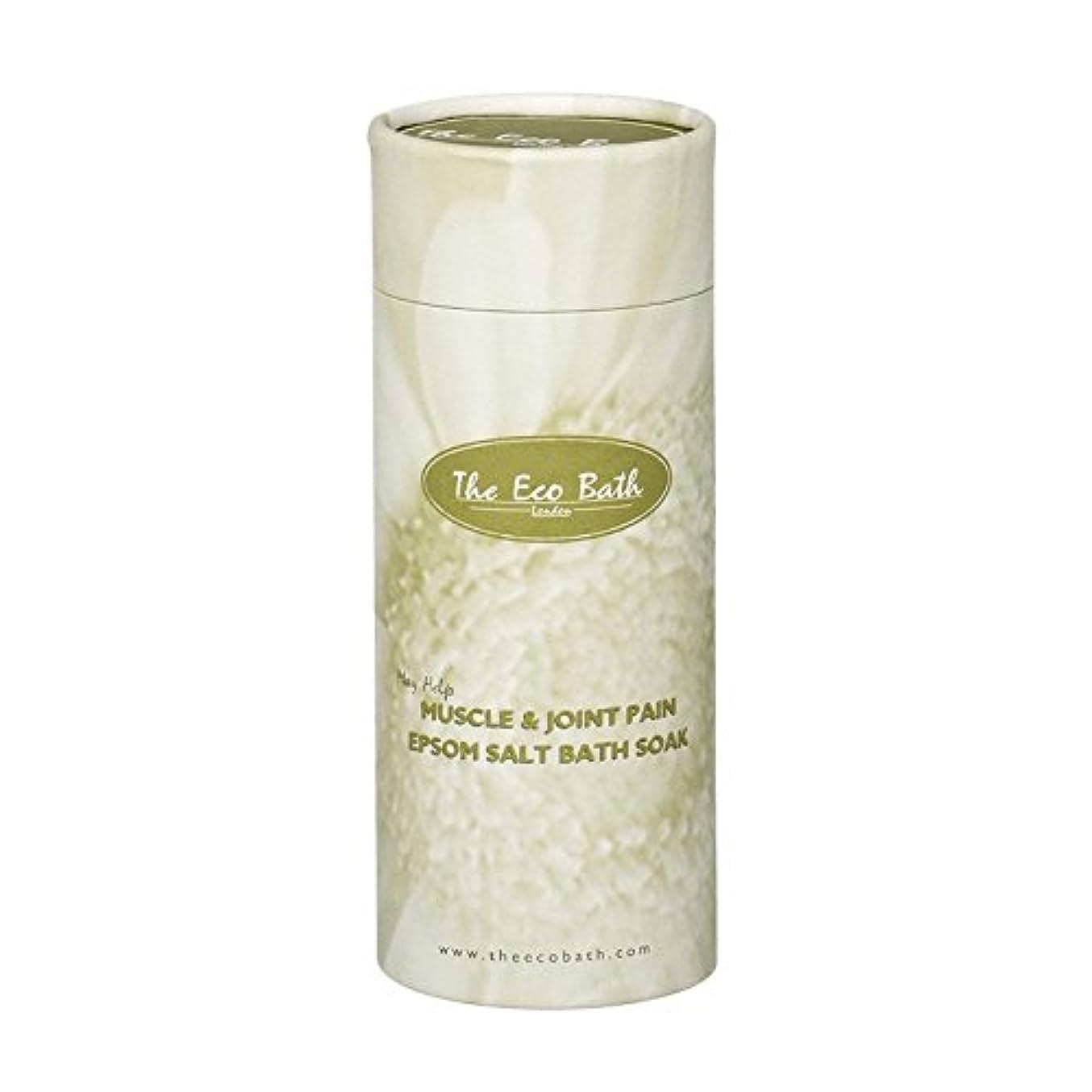 ガラガラ型呼びかけるThe Eco Bath Epsom Salt Bath Soak for Muscle & Joint Pain (Pack of 2) - エコバスエプソム塩浴が筋肉&関節の痛みのために浸します (x2) [並行輸入品]