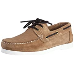 Danassa Suede Deck Shoes 5356: Beige