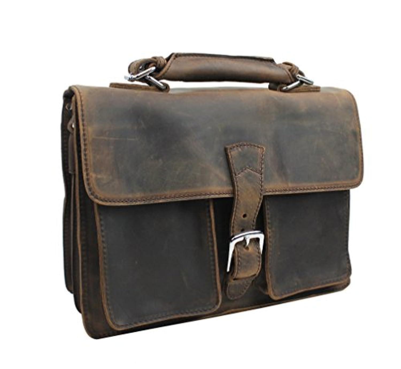 Vagabond Traveler Medium Leather Briefcase L39