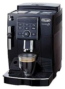 【スタンダードモデル】デロンギ コンパクト全自動コーヒーマシン マグニフィカS ブラック  ECAM23120BN